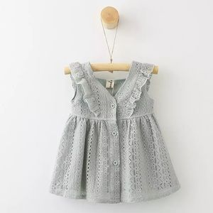 Baby Girls & Toddlers Eyelet Lace Dress